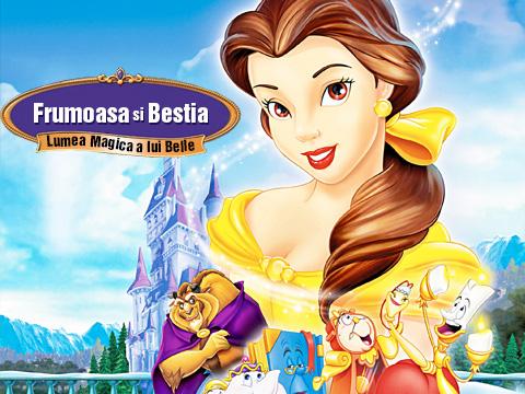 Povesti - Frumoasa si Bestia - Lumea magica a lui Belle - Dublat in Romana
