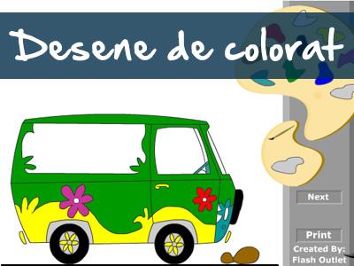 Coloreaza - 3 desene de colorat