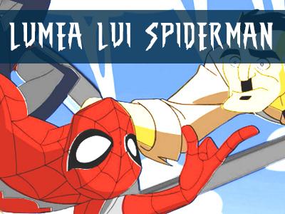 Coloreaza - Lumea lui SpiderMan