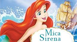 Desene animate - Mica sirena, dublat in limba romana
