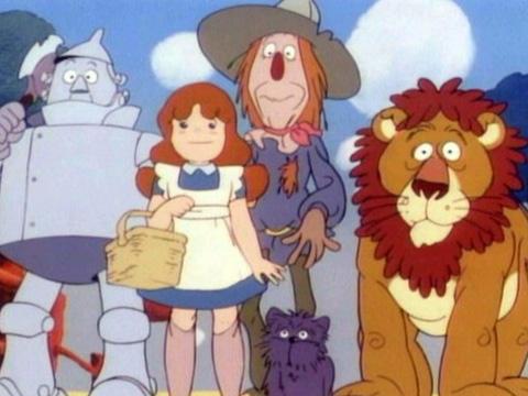 Desene animate - Vrajitorul din Oz, dublat lin limba romana