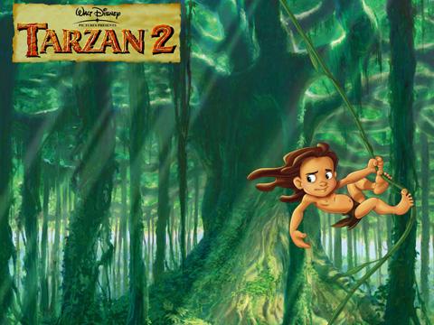 Povesti - Tarzan 2, in limba romana